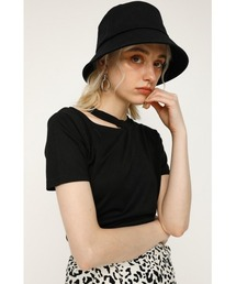 tシャツ Tシャツ CUTTING NECK TOPS/カッティングネックトップス|ZOZOTOWN PayPayモール店