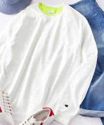 tシャツ Tシャツ Champion/チャンピオン ロゴ刺繍 ビッグシルエットロンT|ZOZOTOWN PayPayモール店