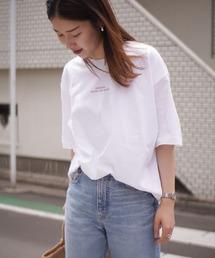 tシャツ Tシャツ < WEB限定 > ビッグ シルエット ロゴ プリント Tシャツ ZOZOTOWN PayPayモール店