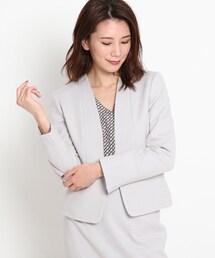 スーツ ジャケット オムニジャージノーカラージャケット|ZOZOTOWN PayPayモール店