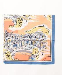 スカーフ バンダナ カカトゥ kakatoo / アンコーナプリントシルクスカーフ|ZOZOTOWN PayPayモール店