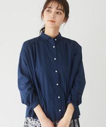 シャツ ブラウス フロントタックギャザーシャツ *|ZOZOTOWN PayPayモール店