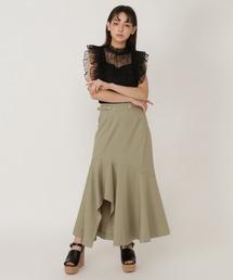 スカート マーメイドアシメヘムロングスカート|ZOZOTOWN PayPayモール店