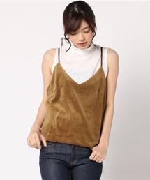 tシャツ Tシャツ TORRAZZO DONNA (トラッツォドンナ)  べロアキャミコンビNS|ZOZOTOWN PayPayモール店