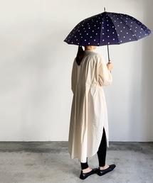 傘 NT:16本骨ミドルドット 長傘|ZOZOTOWN PayPayモール店