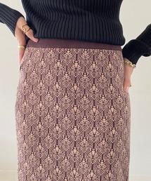 スカート ジャガードニットタイトスカート|ZOZOTOWN PayPayモール店