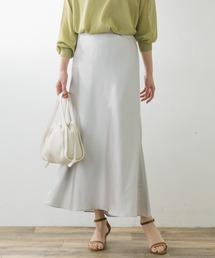 スカート F by ROSSO サテンマーメイドスカート|ZOZOTOWN PayPayモール店