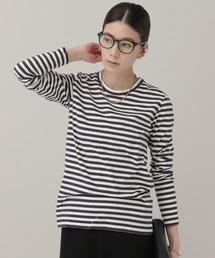 tシャツ Tシャツ Curensology(カレンソロジー)/<&RC>ウォッシュドボーダープルオーバー ZOZOTOWN PayPayモール店