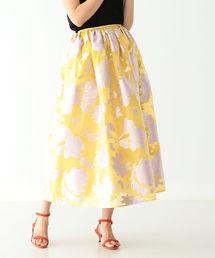 スカート EFFE BEAMS / ラメフラワー スカート|ZOZOTOWN PayPayモール店