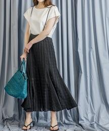スカート ジャガードチェックキャミワンピース(ロングスカート ミディスカート)|ZOZOTOWN PayPayモール店