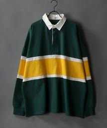 ポロシャツ Big silhouette Rugby shirt / ビッグシルエット ラガーシャツ ZOZOTOWN PayPayモール店