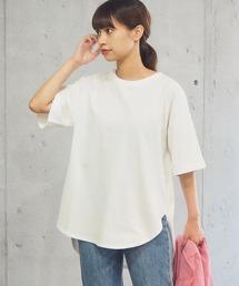 tシャツ Tシャツ 2021SS ラウンドヘムサイドスリット半袖T|ZOZOTOWN PayPayモール店