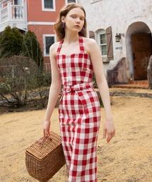 スカート オリジナルギンガムジップタイトスカート|ZOZOTOWN PayPayモール店
