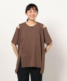 tシャツ Tシャツ 肩スリットあきトップス|ZOZOTOWN PayPayモール店