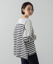 tシャツ Tシャツ パネルバスクボーダープルオーバー|ZOZOTOWN PayPayモール店