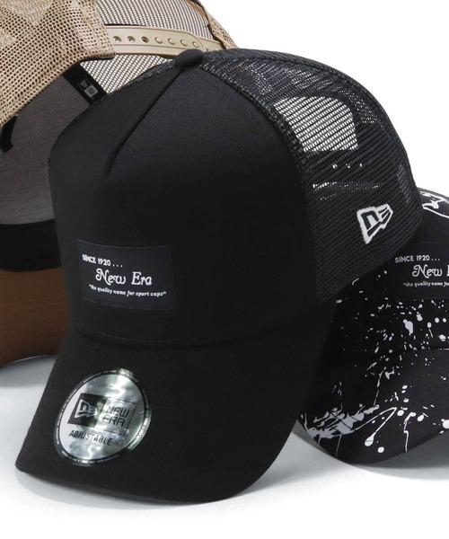帽子 キャップ オンスポッツ別注 ニューエラ メッシュキャップ トラスト PATCH NEW 超歓迎された 9FORTY ERA BLACK
